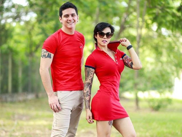 Paloma Ferreira y el Chelo Amaral son imágen de la prestigiosa marca Florida Shopping.