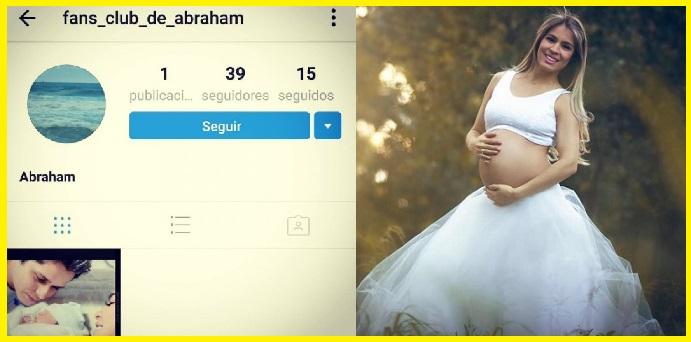 Ni los hijos de Kim Kardashian, pero el hijo de Nadia y Abel, Abraham, tiene club de fans.