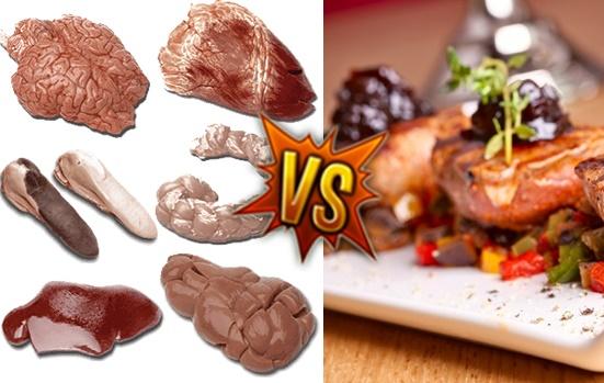 Platos gourmet vs. Asadito de churas