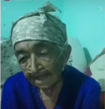 La abuela Valentina ya tiene su respirador
