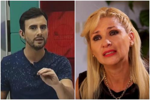 Audio-Gaby León rompió en llanto ante la cobardía de Carlos Gomez en televisión.