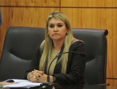 Jueza Dina Marchuk explicó la resolución en el caso del cura